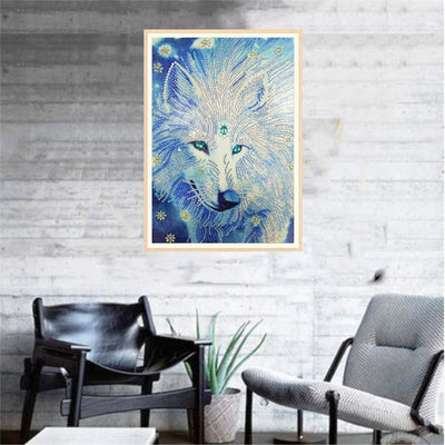 White Wolf - Diamond Paint Kit