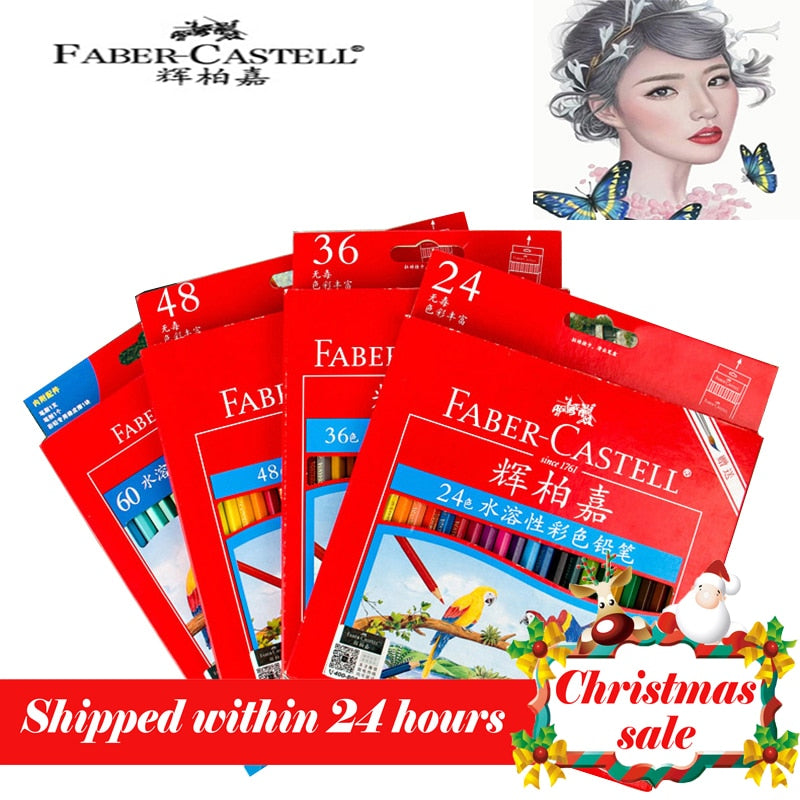 Faber Castell 12/24/36/48/60/72 Watercolor Pencil Sets