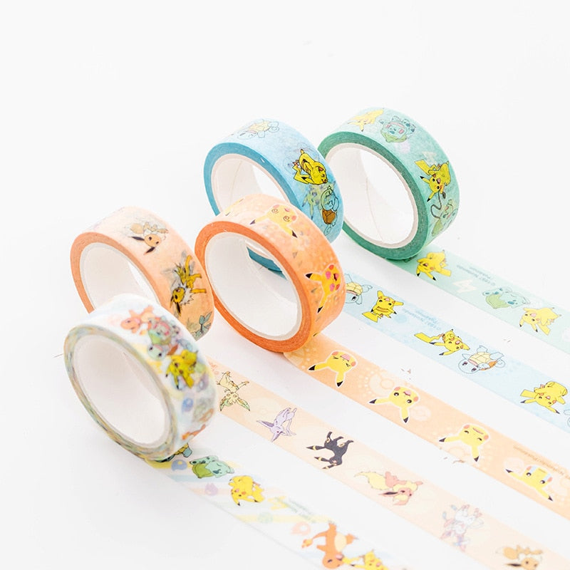 Pokemon Design Washi Tape