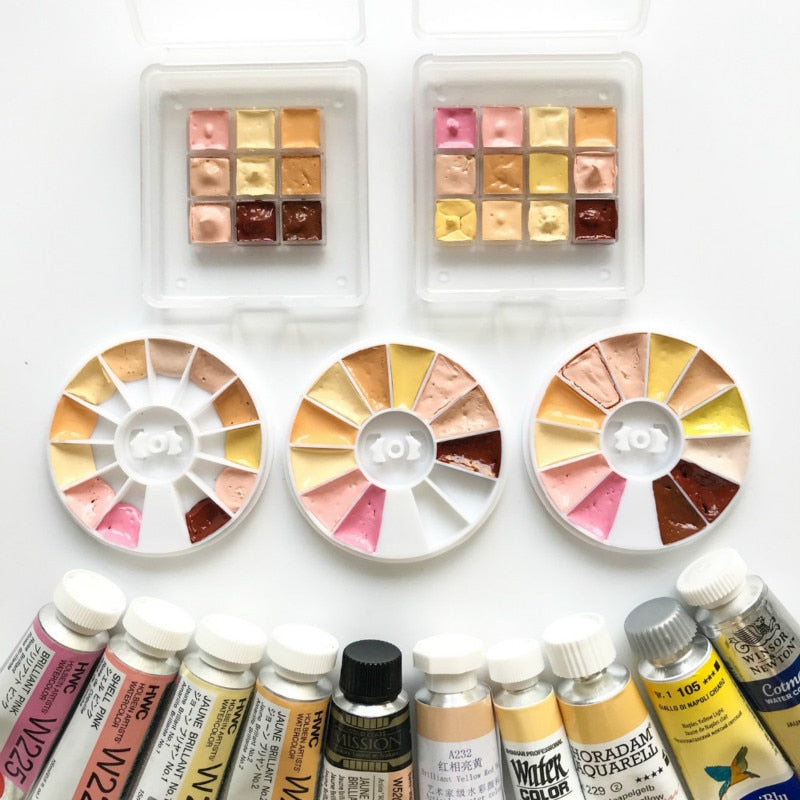 Skin Tone Watercolor Sets