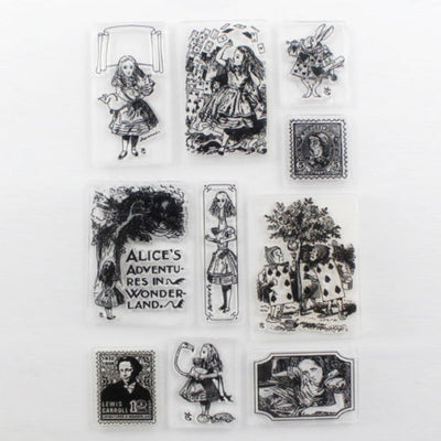 Vintage Nature Silicone Clear Stamps for Scrapbooking