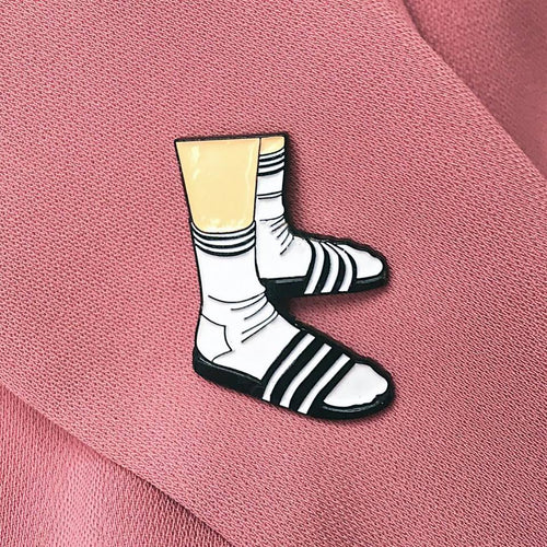 Socks with slippers - Pin