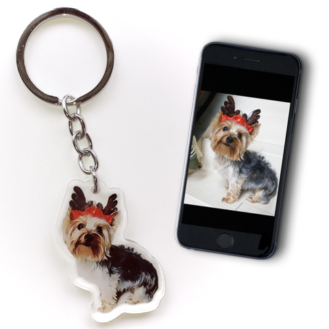 CUSTOM ILLUSTRATION KEYCHAIN