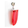 Silicone & Cotton Mitt - Red