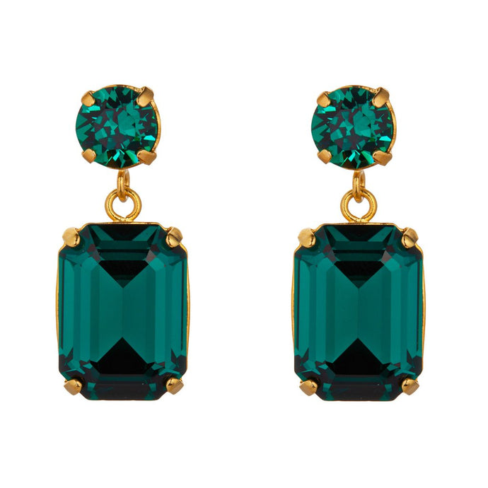 Emerald Swarovski Earrings