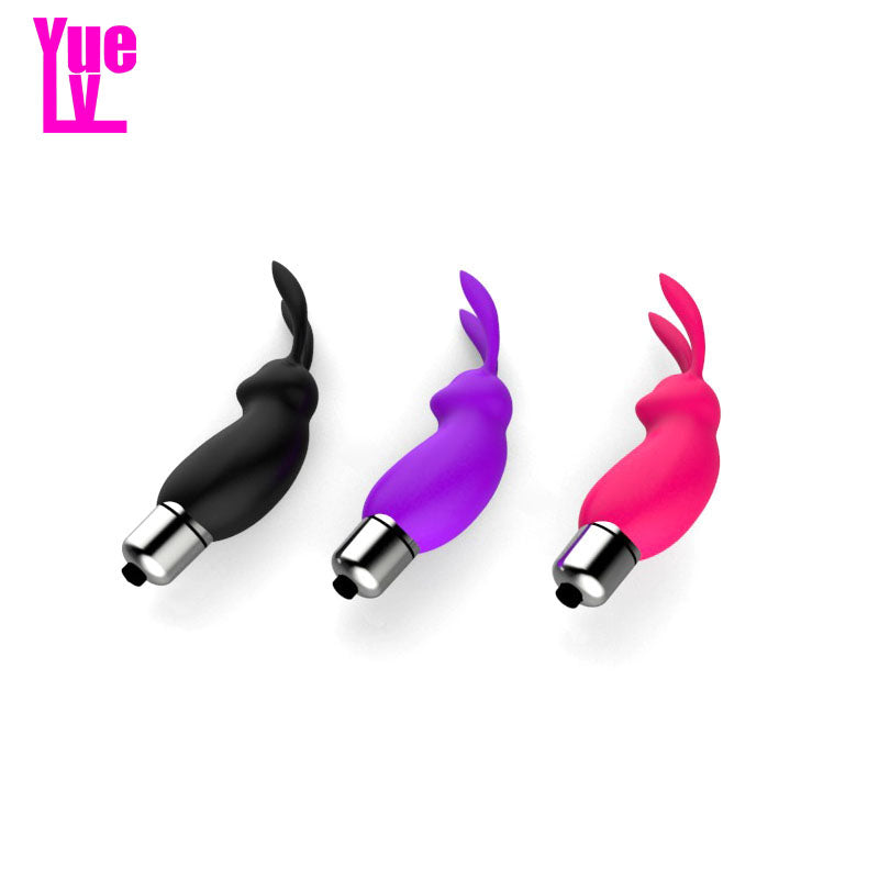 YUELV Mini Silicone Rabbit Vibrator - G Spot Simulation Machine.Rabbit Vibrator,A.G. Calibre