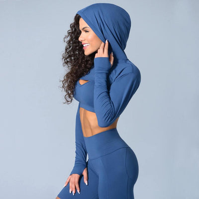 Yoga  Hooded Sweatshirt