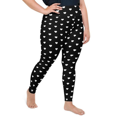Hearts Plus Size Leggings