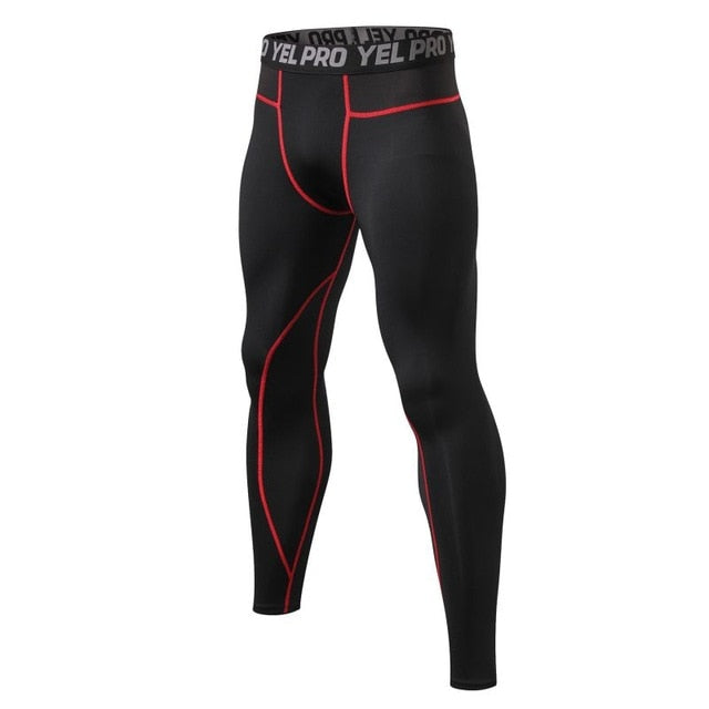 Men  Elastic Compression Leggings - Activthlete Wear