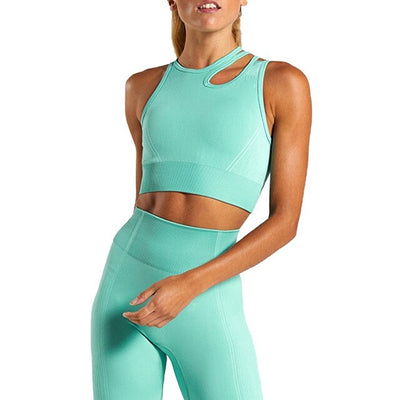 Solid Yoga Workout Clothes