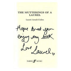 THE MUTTERINGS OF A LAUREL (SIGNED)