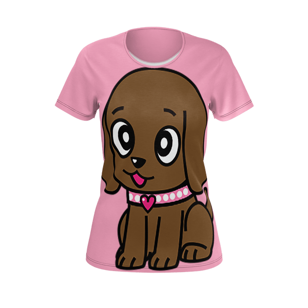 Miss Muddy Puppy Woman's t-shirt