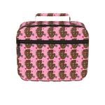 Miss Muddy Puppy Lunch Box with pattern