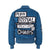 Punk Royal 'Verdi' Bomber Jacket - Blue 2