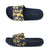 Punk Royal 'Camo' Sliders - Navy / Yellow 1
