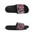 Punk Royal 'Camo' Sliders - Black / Pink 1