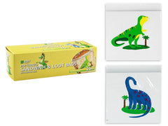Dinosaur Patterned Zip lock Sandwich Bag