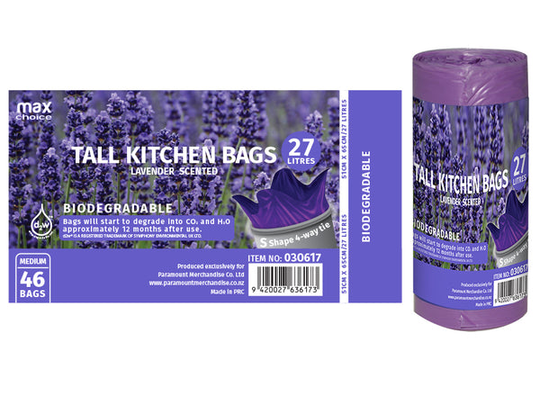 Tall Kitchen Bags Lavender