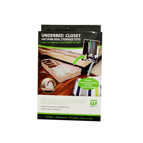 Vacuum Seal Underbed Closet - Grocery Deals