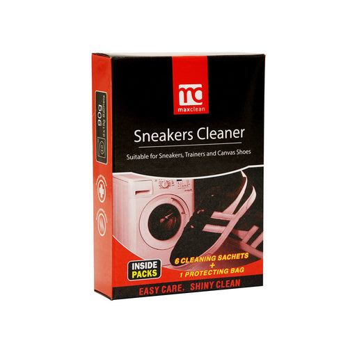 Sneaker Cleaner Sachets with Washing Bag 15g X 6 pack - Grocery Deals