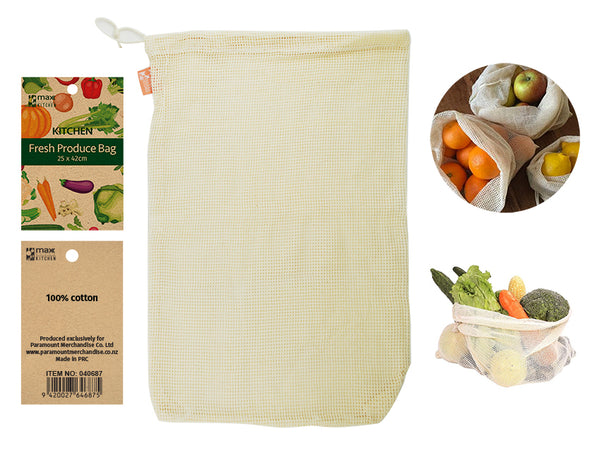 Cotton Fresh Produce Bag - Grocery Deals