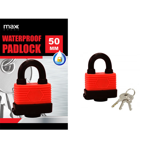Waterproof Padlock - Grocery Deals