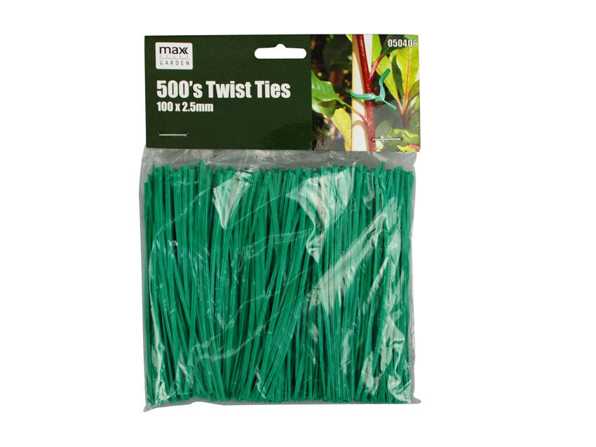 Garden Twist Ties 500 pack - Grocery Deals