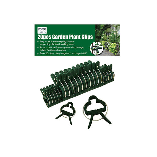 20pc Garden Plant Clip - Grocery Deals
