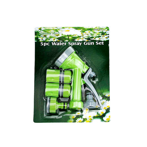 5pc Water Spray Gun Set for the Hose - Grocery Deals