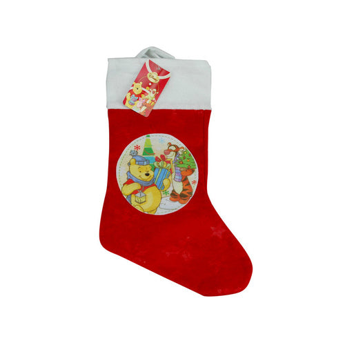 Disney Winnie the Pooh Xmas Stocking - Grocery Deals