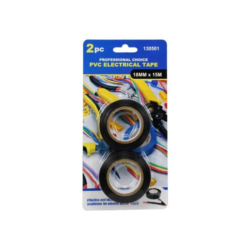 PVC Electrical Tape 2 Piece 18mm x 15mm - Grocery Deals