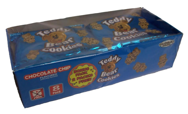 Teddy Bear Cookies Mini Packs
