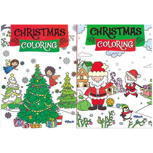 Xmas coloring Books