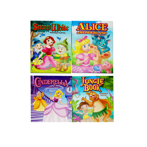 Cinderella Colouring and Activity book - Grocery Deals