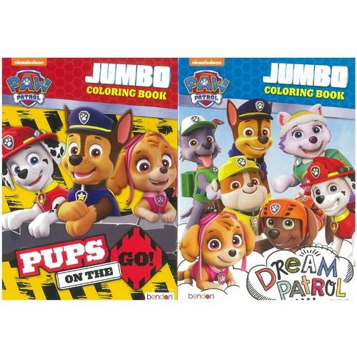 Paw Patrol Colouring Book - Grocery Deals