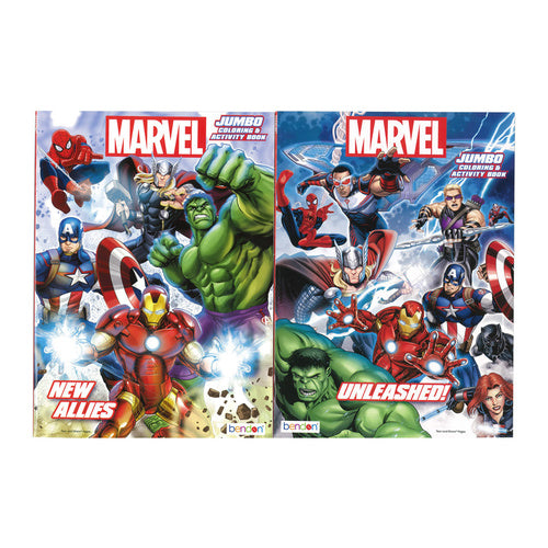 Marvel - Colouring and Activity book