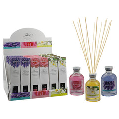 Flora Essence Fragrance Reed Diffuser- Rose - Grocery Deals
