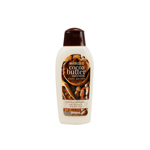 Max Care Body Lotion Cocoa Butter 300ml - Grocery Deals