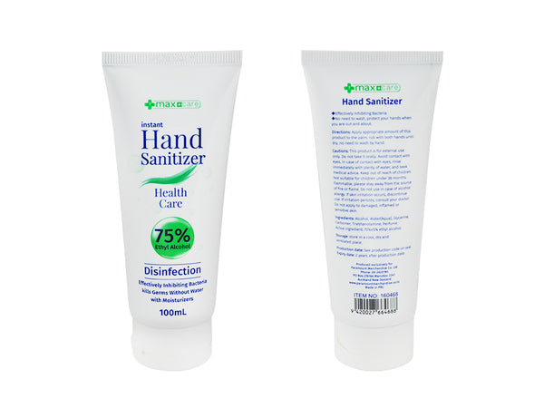 Hand Sanitizer 100ml Tube