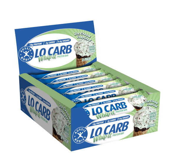 Lo Carb Protein Bar Choc Mint Flavour - Grocery Deals