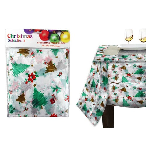 Xmas Table Cloth - Grocery Deals