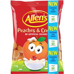 Allans Peaches & Cream - Grocery Deals