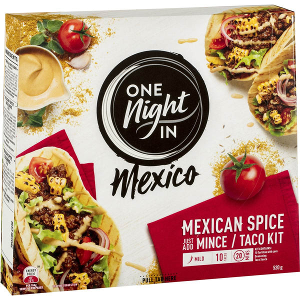 One Night In Mexican Spice Meal Kit