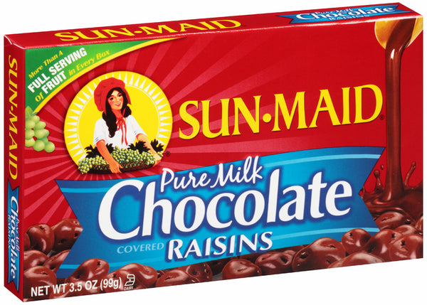 SUN-MAID CHOCOLATE RAISINS