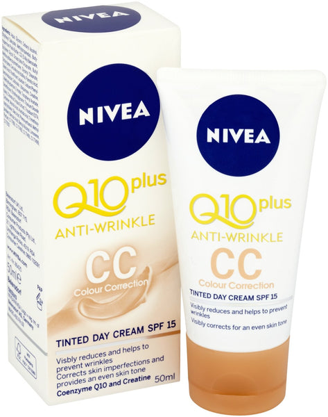 Nivea Q10 Plus Tinted Day Cream - Grocery Deals
