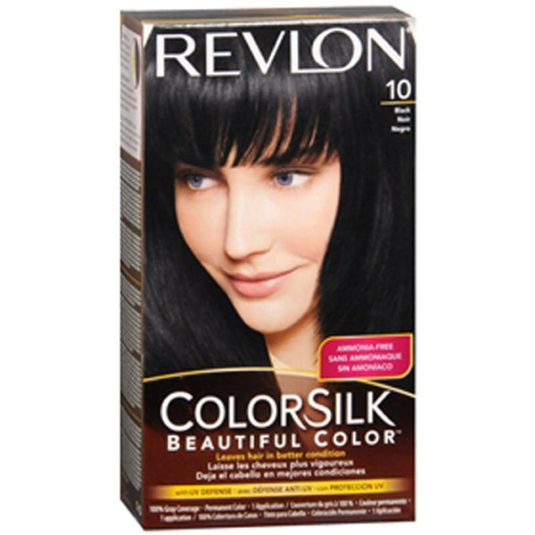 Revlon Coloursilk Permanent Hair Colour Black