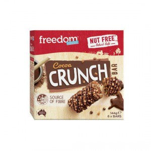 Freedon Crunch Nut free bars berry smoothie