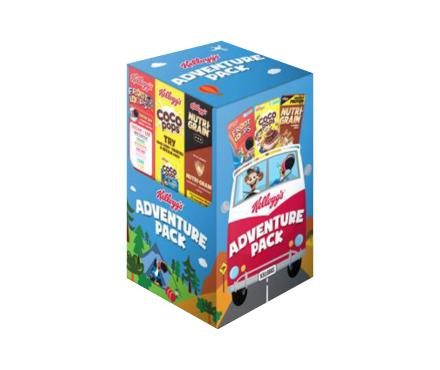 Kellogg's Adventure Pack Cereals