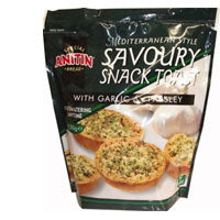 Savoury Snack Toast with Garlic & Parsley