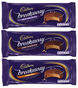 Cadbury Breakaway hazelnut  biscuit - Grocery Deals